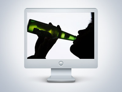 """Online drinking"" is becoming increasingly popular"