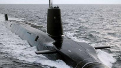 A single Vanguard class submarine (Image from military-today.com)