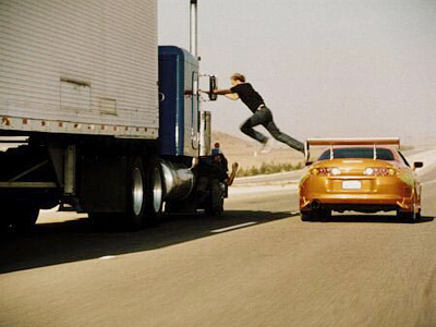 """The frame from movie """"The Fast and the Furious"""""""