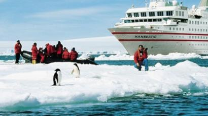 Antarctic tourism: big business with eco-angle (Image from mercopress.com)
