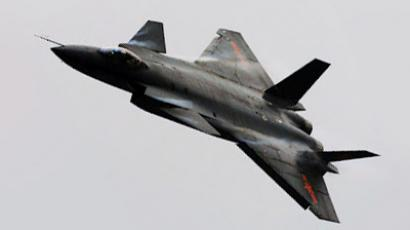 China's J-20 fighter jet. Image from chinesemilitaryreview.blogspot.com