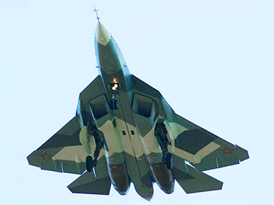 Fifth-gen fighter PAK FA goes supersonic