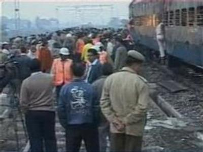 Fire on Indian train might be terrorist attack
