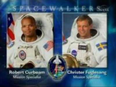 First of the three spacewalks on ISS successful
