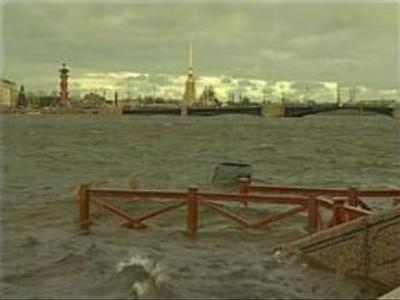 Flooding in St. Petersburg