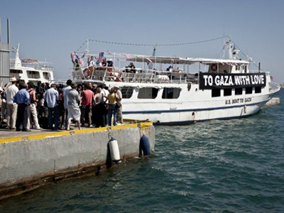 Gaza flotilla relies on charm to disarm Israel