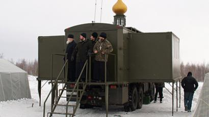 Air-dropped church willl be introduced in the Russian army. (Russian Airborne Force press-service)