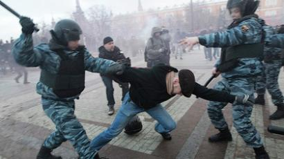 Nationalist rally fails in Moscow