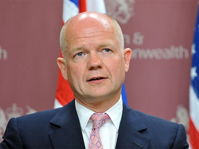 British Foreign Secretary William Hague (AFP Photo / Getty Images)