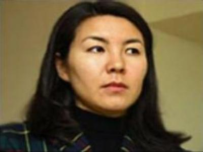 Former Kyrgyz President's daughter detained