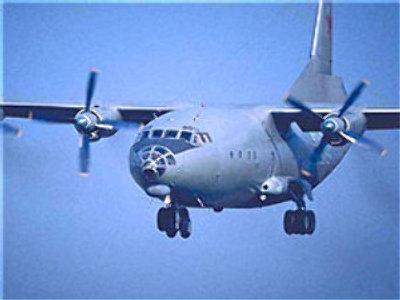 Antonov-12 cargo plane
