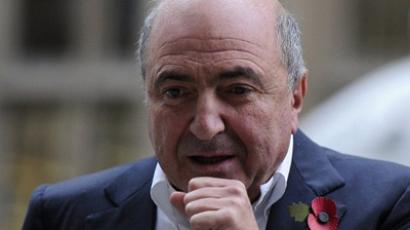 Russian tycoon Boris Berezovsky arrives at the High Court in central London (AFP Photo / Carl Court)