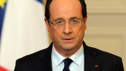 France's President Francois Hollande (Reuters/Philippe Wojazer)