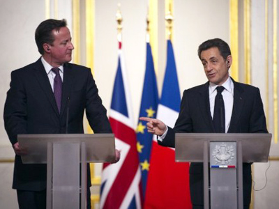 Friendly advice: France, UK to command ousting of Assad?