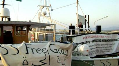Israel says the new Gaza aid flotilla is carrying chemical weapons (photo from     http://www.freegaza.org)