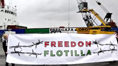 Freedom Flotilla Two, in truth, is already the tenth attempt to break through to the Gaza Strip by sea since 2008 (photo from http://freegaza.org)
