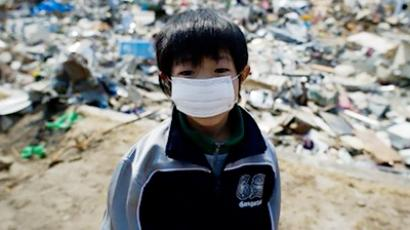 Almost half the children in Fukushima test positive for radiation (AFP Photo / Nicolas Asfouri)