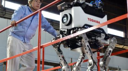 Japanese leader proposes first-ever 'Robot Olympics'