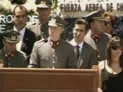 Funeral speech taken as 'serious offence' by Chile's president