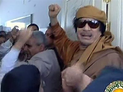 """If there is no ground operation, Gaddafi has a chance to win"""
