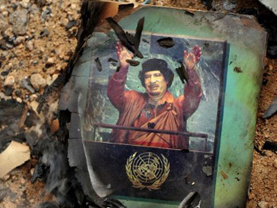 Gaddafi vs. NATO: Dying by the sword