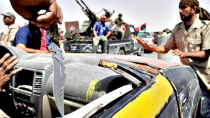 Gaddafi's last stronghold - rebel quagmire?