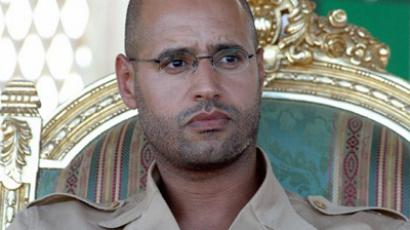 Saif Gaddafi (AFP Photo / Mahmud Turkia)