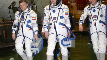 Final countdown before jubilee Soyuz launch
