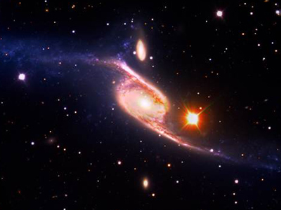 Extra space: Largest known spiral galaxy identified by accident