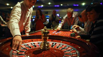 A roulette in the Orakul entertainment center in the Azov City gambling zone (RIA Novosti / Mikhail Mokrushin)