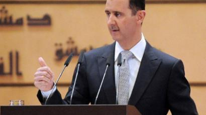 Gulf Arabs push diplomatic assault on Syria