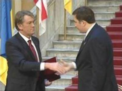 Georgia, Ukraine leaders confirm their wish to join NATO