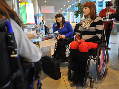 Access denied: Air Berlin refuses to board disabled group