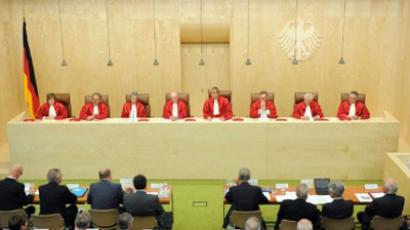 The German Constitutional Court  (AFP Photo / Uli Deck / Germany Out)