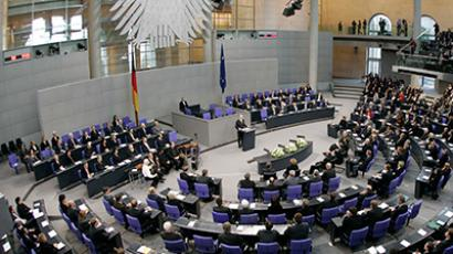 The Bundestag (Reuters/Fabrizio Bensch)