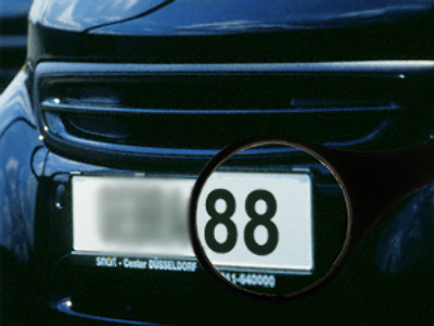 Germany slates `neo-Nazi` number plates