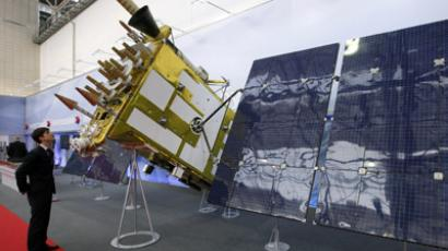 The new Glonass satellite. But how much of its budget actually went on improving it? (Reuters/Ilya Naymushin)