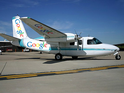 Air alert: Google and Apple may spy from the sky