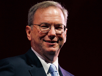 Eric Schmidt (Reuters / David Moir)