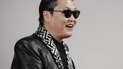 South Korean pop sensation PSY (AFP Photo / Philippe Lopez)