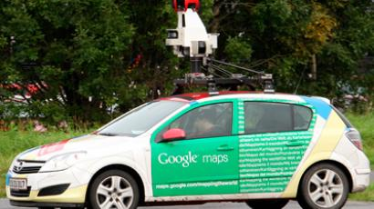 A Google Street View vehicle (AFP Photo / Fabrizio Bensch)