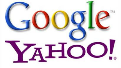 Google and Yahoo are being accused of supporting Intenet pirates