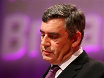 Gordon Brown (AFP Photo / Javier Soriano)