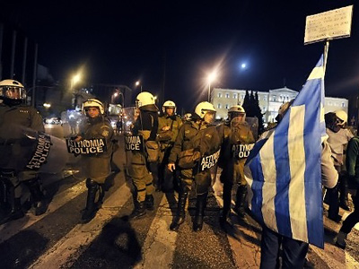 Greek austerity: Path to recovery, or path to violence?