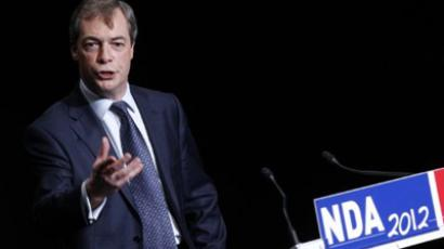 Nigel Farage (AFP Photo / Thomas Samson)