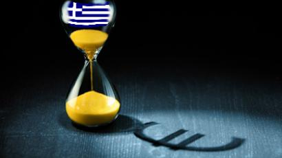 Fears of Greece defaulting on its debt obligations prompted the British banks to withdraw financial assets from the lending market.