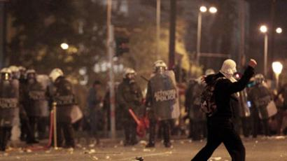 Second day of clashes in Athens after pensioner's suicide (PHOTOS, VIDEO)