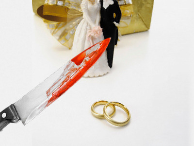 Guests kill newlyweds for rings