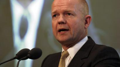 Britain's Foreign Secretary William Hague (Reuters/Hamad I Mohammed)