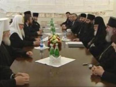 Head of Georgia Orthodox Church visits Moscow